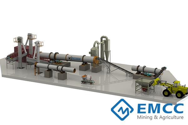Завод по производству удобрений (Барабанным Гранулятором) Featured Image