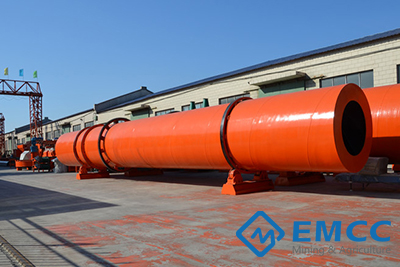 Rotary Drum Dryer 2