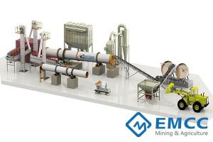 50000 тонн / год Завод по производству органических и сложных удобрений(Дисковым Гранулятором)