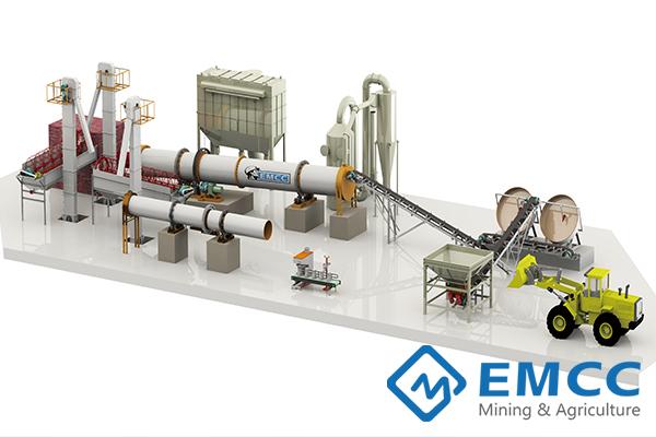 50000 тонн / год Завод по производству органических и сложных удобрений(Дисковым Гранулятором) Featured Image