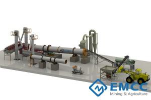 50000 тонн / год Завод по производству органических удобрений новым методом